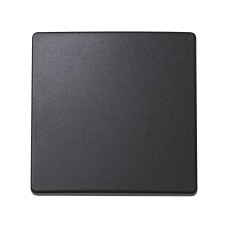 SIMON 73010-62 Tecla interruptor SIMON 73 LOFT para conmutador y pulsador grafito