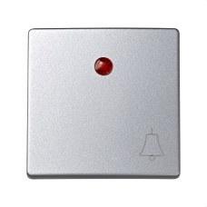 SIMON 73015-63 Tecla SIMON 73 LOFT con campana para luminoso aluminio