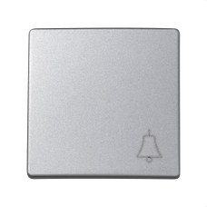 SIMON 73017-63 Tecla pulsador SIMON 73 LOFT campana aluminio