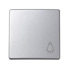 SIMON 73018-63 Tecla pulsador SIMON 73 LOFT con grabado luz aluminio