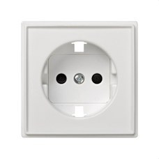 SIMON 2705041-030 Tapa enchufe Simon 27 scudo blanco