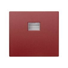 SIMON 4400010-037 Tecla simple Simon 44 AQUA rojo