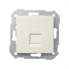 SIMON 82005-31 Adaptador Simon 82 con 1 conector RJ-AMP marfil