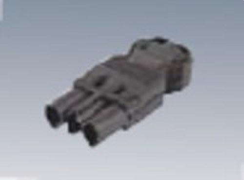 Conector rápido aéreo Macho 3P gris grafito
