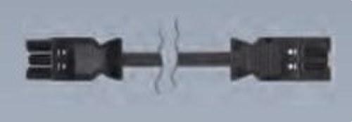 Latiguillo conexión rápida 2m Macho Hembra 3x2,5mm 3P gris grafito