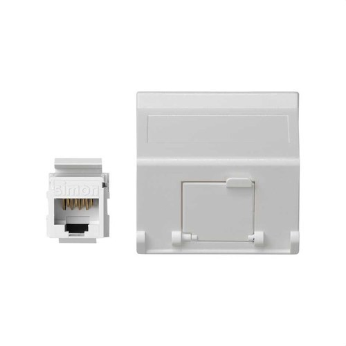 PL K45 V&D INCLINADA C/GUARDAP  CON 1 CONECTOR CAT6 UTP