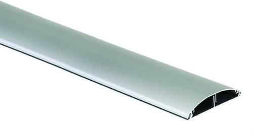 Canal DCS aluminio suelo 85x18mm