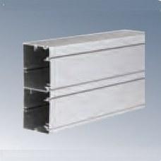 SIMON TK11102/8 Canal aluminio 130x55mm K45 2 compartimentos aluminio