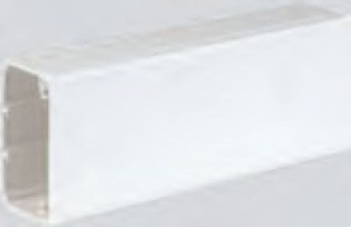 Canal PVC pasacables 90x55mm blanco nieve