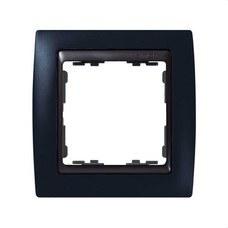 SIMON 82812-32 Marco Simon 82 con 1 elemento grafito/zócalo grafito