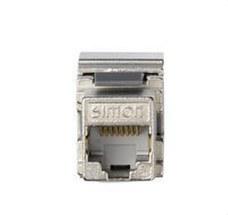 SIMON CJ6A45F Conector RJ45 CAT6 FTP
