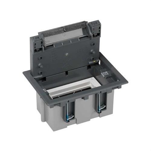 Caja suelo 70mm 1 módulo 500 CIMA gris