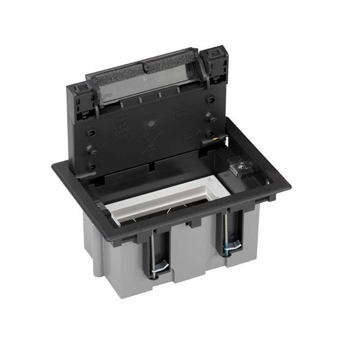 Caja suelo 70mm 1 módulo 500 CIMA grafito