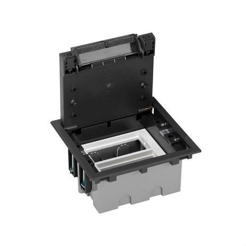 Caja suelo 70mm 2 módulos 500 CIMA grafito