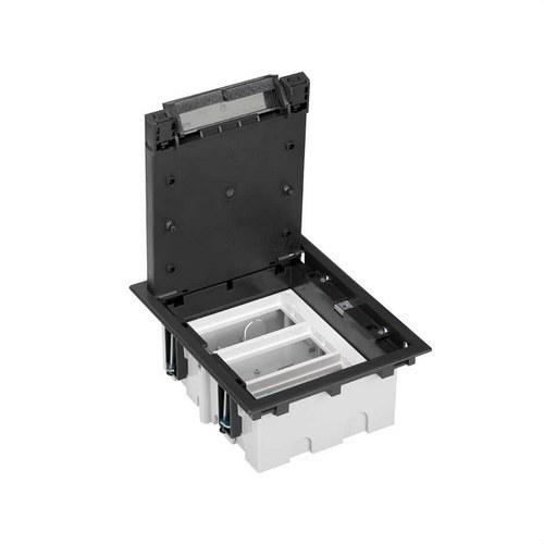 Caja suelo 70mm 3 módulos 500 CIMA grafito