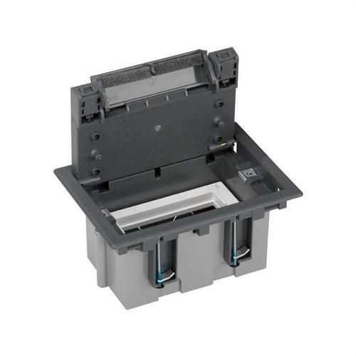Caja suelo 90mm 1 módulo 500 CIMA gris