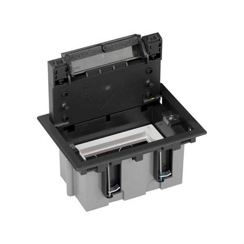 Caja suelo 90mm 1 módulo 500 CIMA grafito
