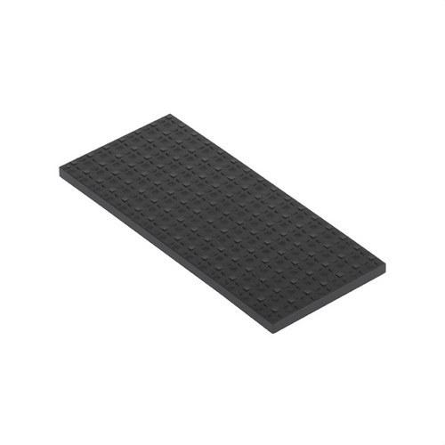 Tapa para caja suelo con 1 módulo 500 CIMA grafito