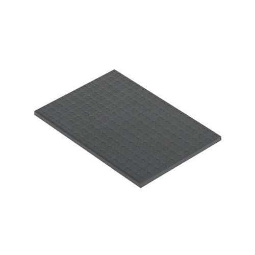 Tapa para caja suelo con 2 módulos 500 CIMA gris