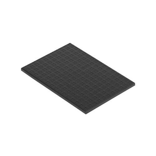 Tapa para caja suelo con 2 módulos 500 CIMA grafito
