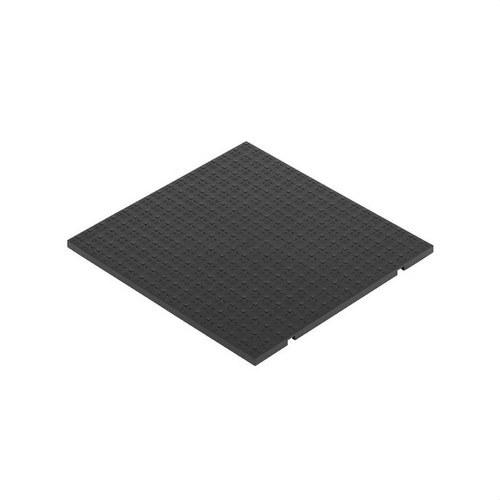 Tapa para caja suelo con 3 módulos 500 CIMA grafito