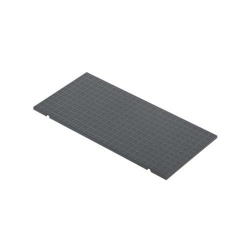 Tapa para caja suelo con 4 módulos 500 CIMA gris