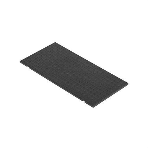 Tapa para caja suelo con 4 módulos 500 CIMA grafito
