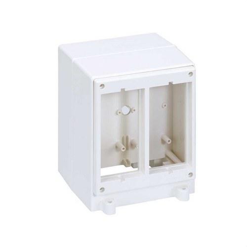 Torreta con marco 500 CIMA 4 módulos blanco