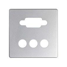 SIMON 8200092-093 Placa SIMON DETAIL 82 para conector VGA+3RCA