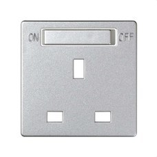 SIMON 8200046-093 Tapa SIMON DETAIL 82 enchufe británico con interruptor