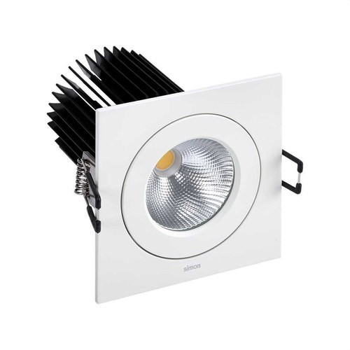 DOWNLIGHT 705.24 SQUARE NW WIDE FLOOD
