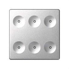 SIMON 8000661-093 Sistema de control SENSE KEYPAD 6B regular aluminio