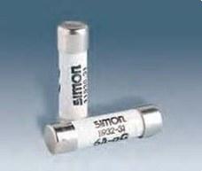SIMON 11932-31 Fusible cilíndrico SIMON 11 380V 6A con indicador (8,5x31,5)