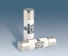 SIMON 11947-31 Fusible cilindrico 500V 6A sin indicador (10x38)