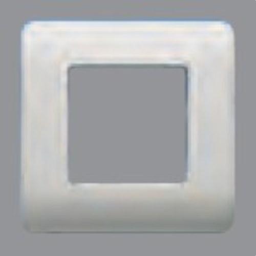 Placa 2 elementos con bastidor Sol Teide en plata