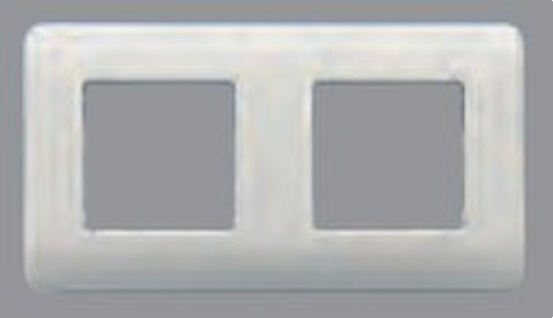 Placa 4 elementos con bastidor Sol Teide en plata