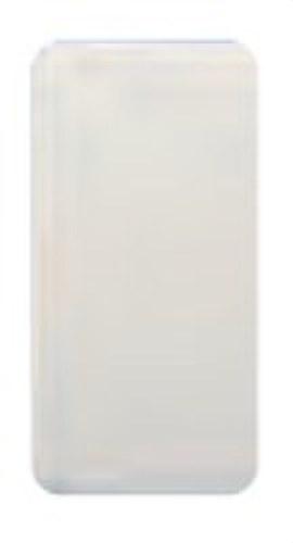 Placa ciega estrecha Sol Teide en blanco
