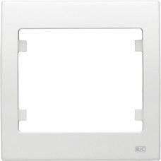 BJC 18001 Marco 1 elemento horizontal vertical serie Iris en blanco