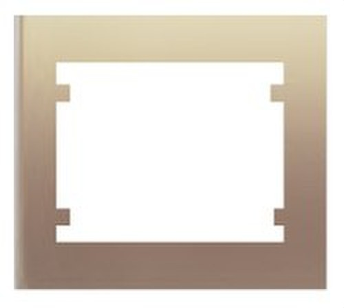 Marco 1 elemento horizontal vertical serie Iris en dorado odisea