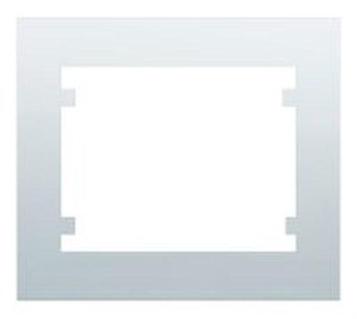Marco 2 elementos horizontal serie Iris en blanco