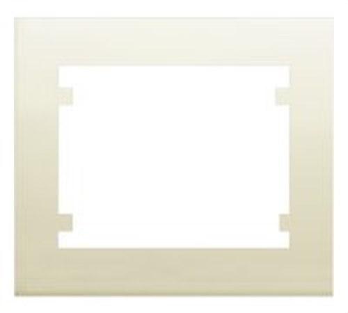 Marco 3 elementos horizontal serie Iris en beige