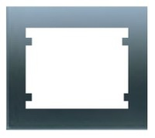 Marco 3 elementos horizontal serie Iris en acero neptuno