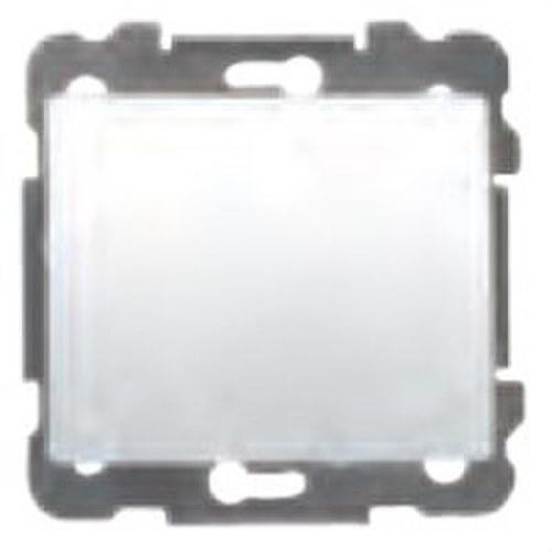 Tapa ciega serie Iris en aluminio mercurio