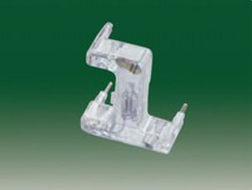 Señalizador luminoso neón para interruptores bipolares y unipolares de control tecla ancha