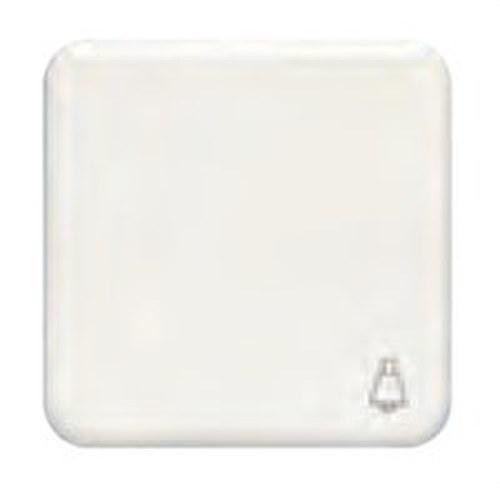 Tecla pulsador luz serie Ibiza en blanco