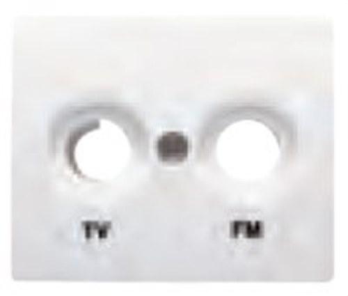 Tapa para tomas TV-FM serie Iris/aura en beige