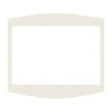 BJC 21600 Embellecedor intermedio estándar en blanco