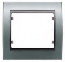 BJC 22002-AF Marco 2 elementos horizontal en zamak serie Mega en aluminio fusión