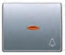 BJC 22716-AFL Tecla pulsador timbre 22716-AFL serie Mega en aluminio fusión
