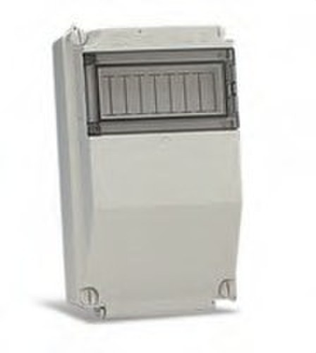 Caja TCP de 324x194x140mm con capacidad para 8 módulos de 17,5mm